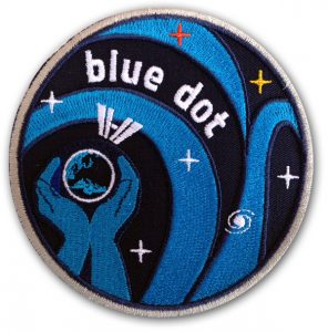 Esa Patch der Blue-dot Mission
