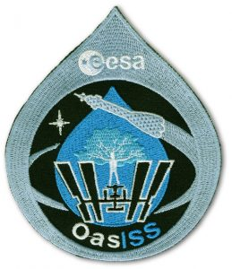 ESA Patch der Oasiss Mission