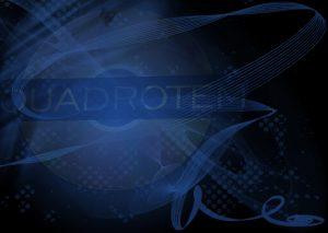 Quadrotem Logo auf dunklem Grund