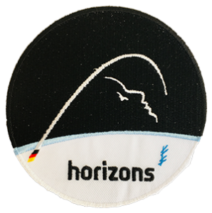 ESA Patch der Horizons Mission