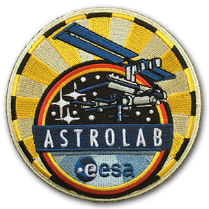 ESA Patch der Astrolab Mission